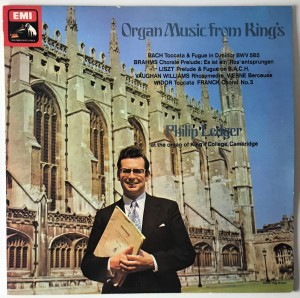 Ledger - Organ Music From Kings LP HQS1356 DOSK