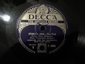 Ambrose - Spanish Jake / I Heard A Song In A Taxi, Decca