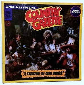 Country Gazette - A traitor in our midst! LP vinyl good