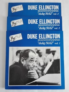Duke Ellington - Duke 56/62, Vol. 1, 2, 3 LP zestaw dosk