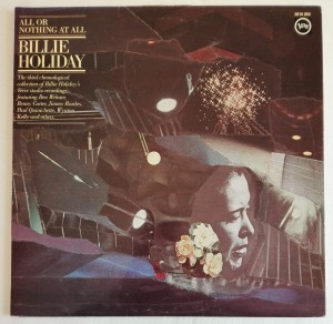 Billie Holiday - All Or Nothing At All, 2 LP winyl dosk