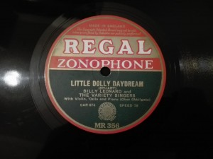 Billy Leonard - Little Dolly Daydream / The Lily Regal Zonophone