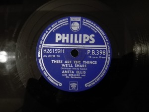 Anita Ellis - These Are The Things... / Unsuspecting Heart Philips