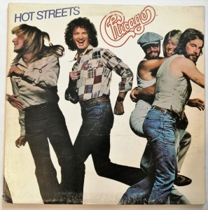 Chicago - Hot Streets LP winyl stan słaby