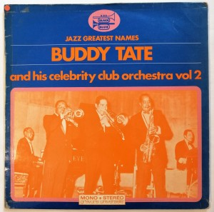 Buddy Tate And Celebrity Club Orchestra Vol 2 LP db