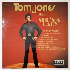Tom Jones Sings She's A Lady LP winyl stan bdb
