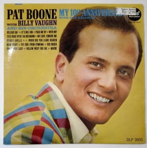 Pat Boone My 10th Anniversary With Dot Records LP db