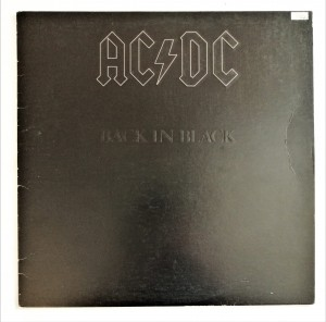 AC/DC - Back In Black LP winyl doskonały