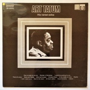 Art Tatum - His Rarest Solos LP winyl stan doskonały