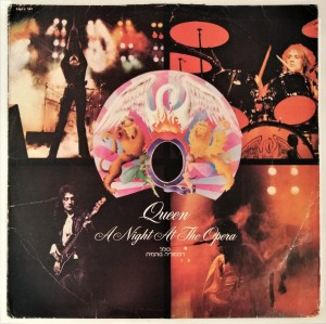 Queen - A Night At The Opera LP EMTC103b