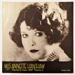 Annette Hanshaw - The Early Years 1927 LP FV202