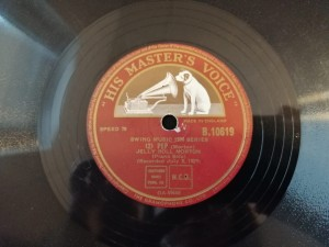 JELLY ROLL MORTON - FAT FRANCES / PEP HMV B10619