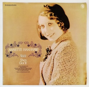 Annette Hanshaw - Vol 2 She's Got It LP SH247
