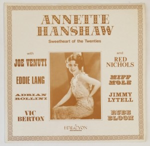 Annette Hanshaw Sweetheart of the Twenties LP HAL5