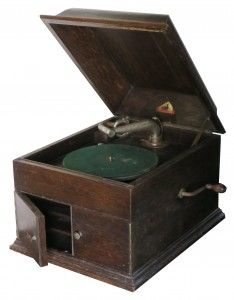 HMV model No. 6 table grand gramophone c. 1920