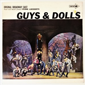 Frank Loesser's Guys And Dolls LP CPS15