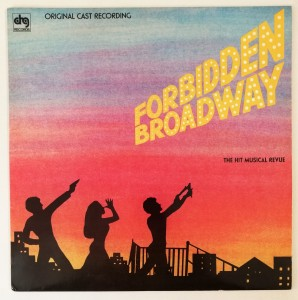Forbidden Broadway : Hit Musical Revue LP SBL12585