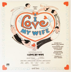 Cy Coleman - I Love My Wife LP SD19107