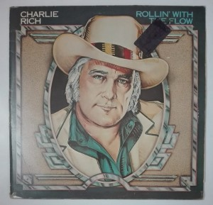 Charlie Rich - Rollin' With The Flow LP winyl stan dosk