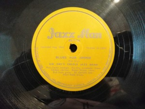 KID ORY BLUES FOR JIMMIE/ GET OUT... Jazz Man 22