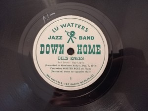 LU WATTERS AUNT HAGARS /BEES KNEES Down Home 2a