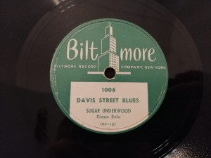 DEW DROP ALLEY/ DAVIS STREET BLUES Bilt More 1006