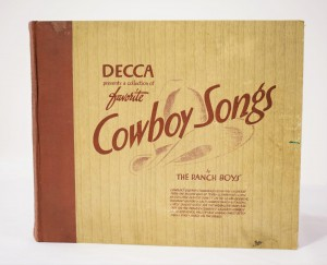 Cowboy Songs by The Ranch Boys Decca Album133