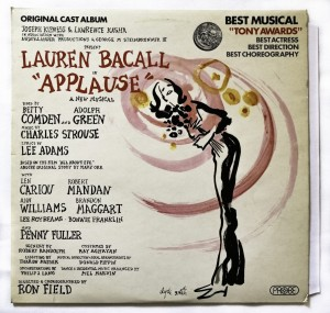 Lauren Bacall - Applause LP SPB1055