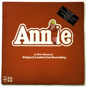 Annie (Original Cast Recording) LP CBS70160