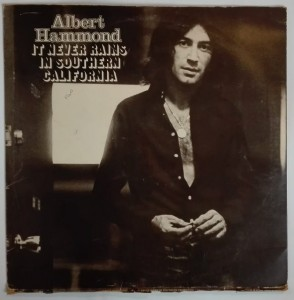 Albert Hammond LP It Never Rains in Southern California LP winyl stan słaby