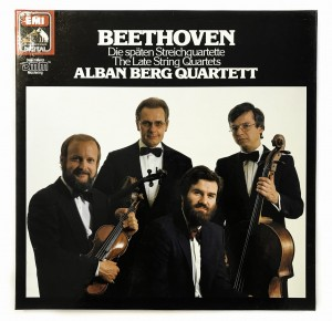 Beethoven/Berg The Late String Quartets LP 2701143
