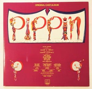 Pippin - Original Cast Album LP M760L dosk