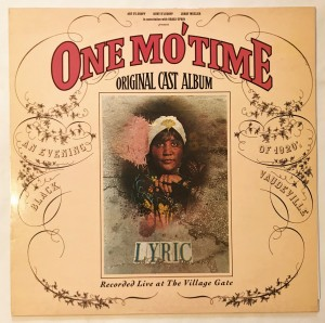 One Mo' Time (Original Cast Album) LP K56850 bdb