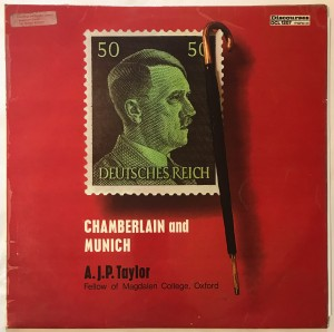 A.J.P Taylor Chamberlain And Munich LP DCL1207 bdb