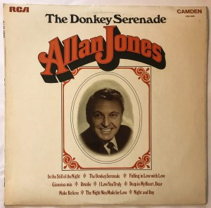 Allan Jones The Donkey Serenade LP CDS1008 bdb