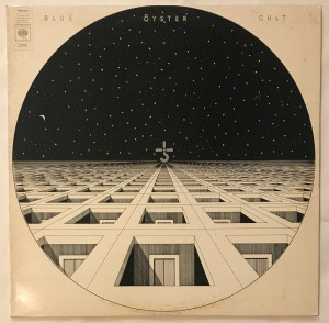 Blue Oyster Cult LP CBS32025 bdb