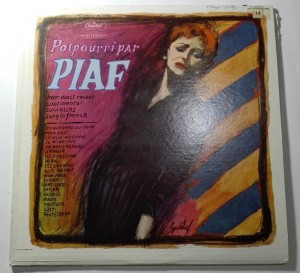 Edith Piaf - Potpourri Par Piaf LP vinyl good