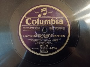 PICCADILLY REVELS HONOLULU SONG BIRD Columbia 4474