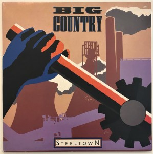 Big Country - Steeltown LP MERH49a bdb