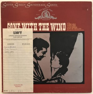 Max Steiner - Gone With The Wind LP 2353031 bdb