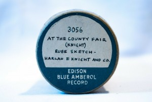 Cylinder Edison At The County Fair 3056