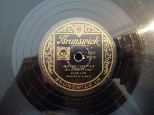 THE FOUR ACES - HEAVEN CAN WAIT BRUNSWICK 5256