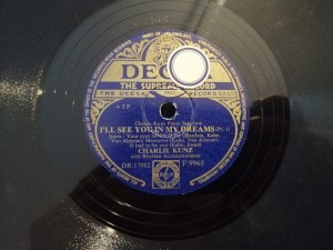 Charlie Kunz I'll See You In My Dreams Decca F9968