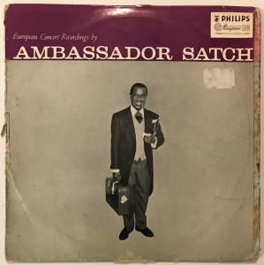 Louis Armstrong - Ambassador Satch LP BBL7091 FAIR