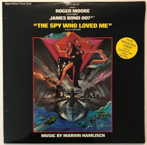 Marvin Hamlisch - The Spy Who Loved Me LP UAG30098