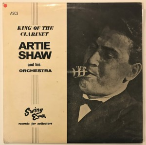 Artie Shaw - King Of The Clarinet LP ASC3 bdb