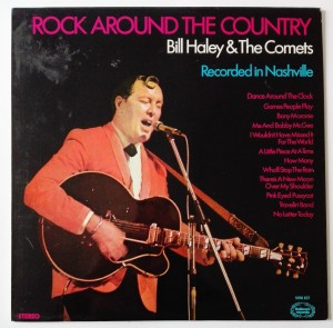 BILL HALEY - ROCK AROUND THE COUNTRY LP bdb