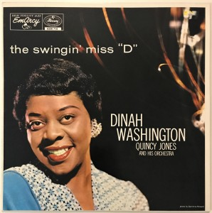 "Dinah Washington The Swingin' Miss ""D"" LP 6336714"