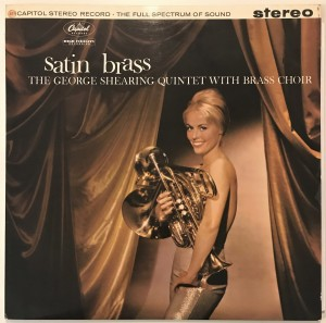 The George Shearing Quintet Satin Brass LP ST1326