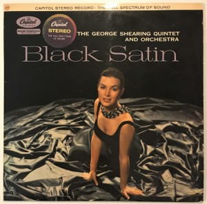 The George Shearing Quintet - Black Satin LP ST858